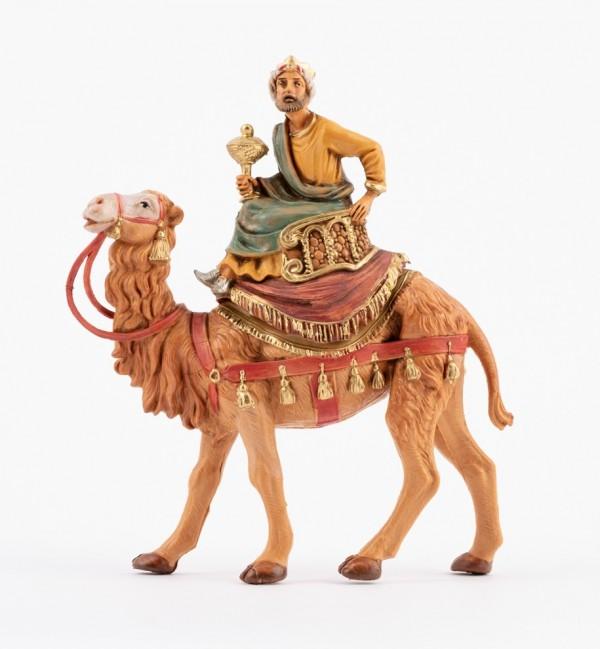 Król na wielbłądzie (2) do szopki wys. 10 cm
