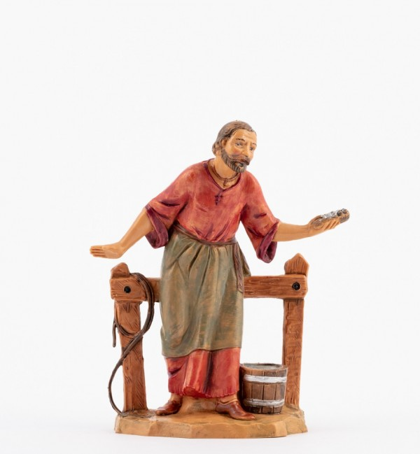 Pasterz (175) do szopki wys. 12 cm