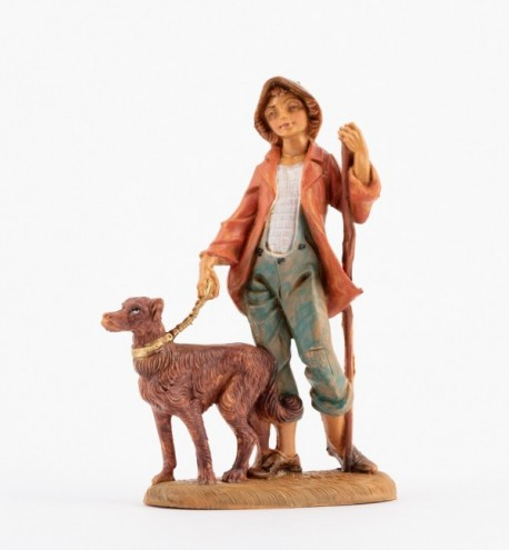 Pasterz (120V) do szopki wys. 12 cm